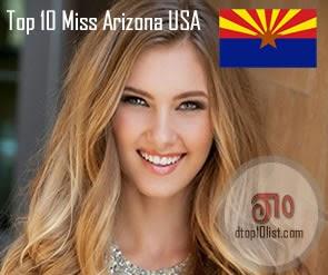 Top 10 Miss Arizona USA (Last 10 Winners)
