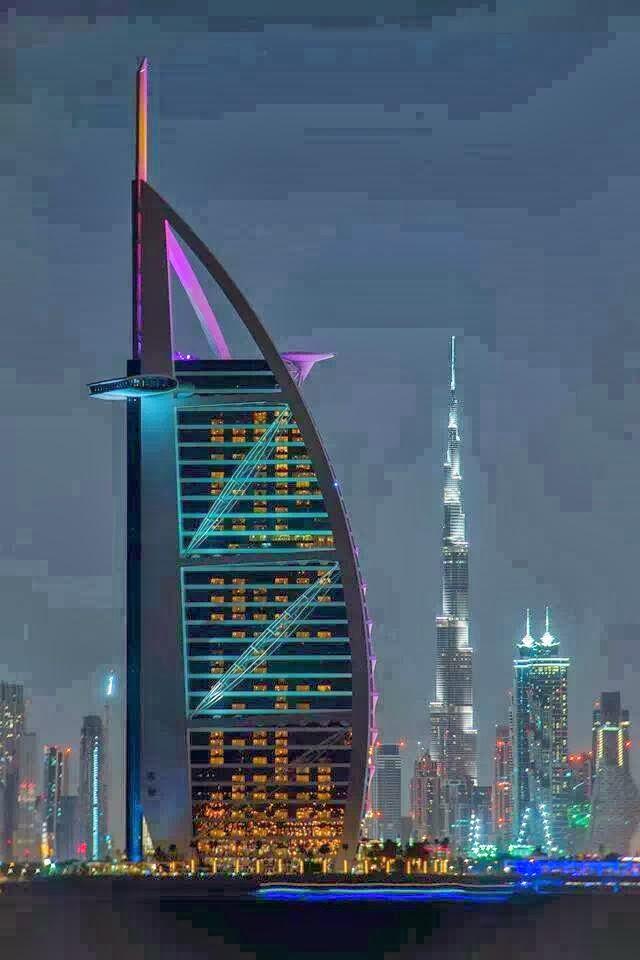 Fantastic Click Of Burj Khalifa Burj Al Arab Dubai And