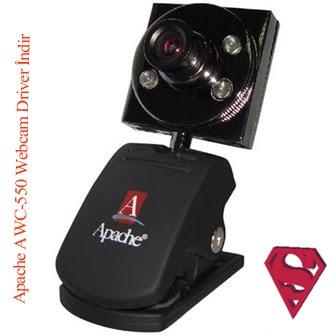 Apache AWC-550 webcam ekran görüntüsü.