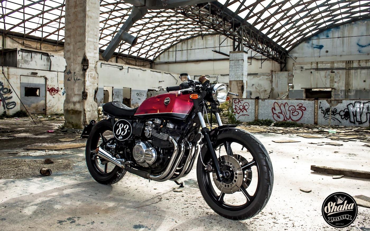 GPZ550 By Shaka Garage