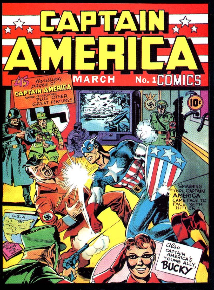 Inside jeff overturf 39 s head meet captain america issue 1 1940 - Image captain america ...