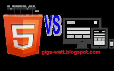 Pilih Templat HTML 5 Atau Responsive-giga watt