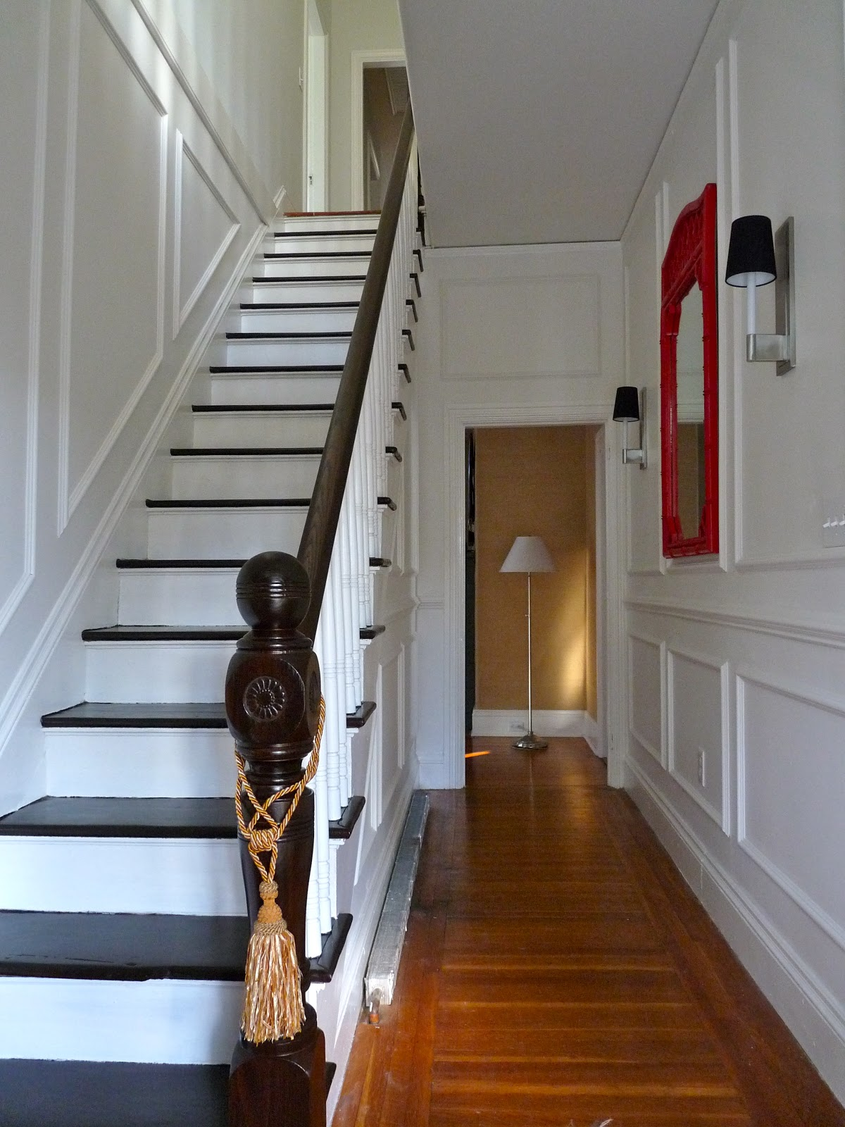 Hazardous design a grand entrance foyer and hallway reveal Design ideas for hallways and stairs