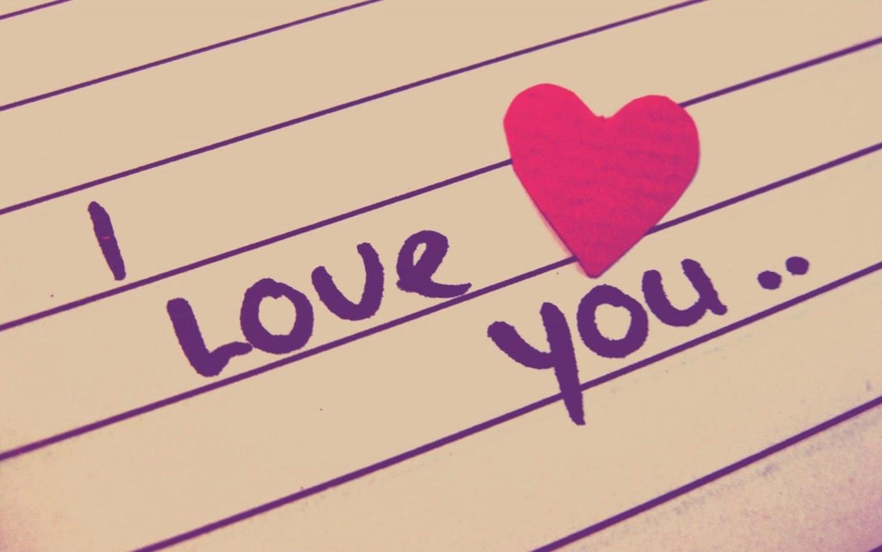 Gambar Cinta Kartu Ucapan I Love U Aku Cinta Kepadamu