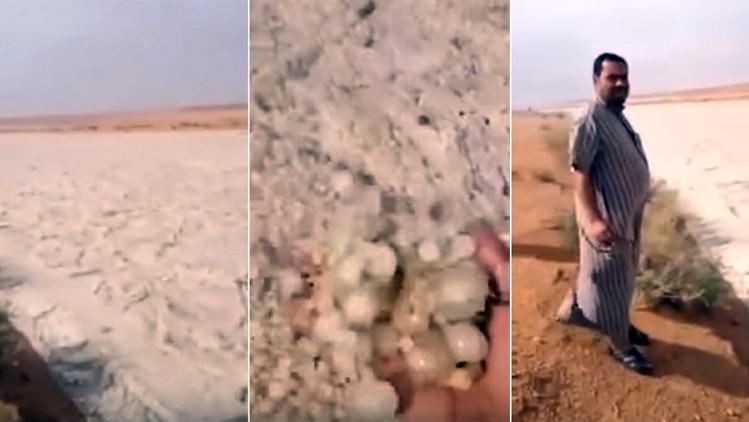 Lo strano fiume di sabbia nel deserto dell 39 arabia saudita for Sabbia di fiume
