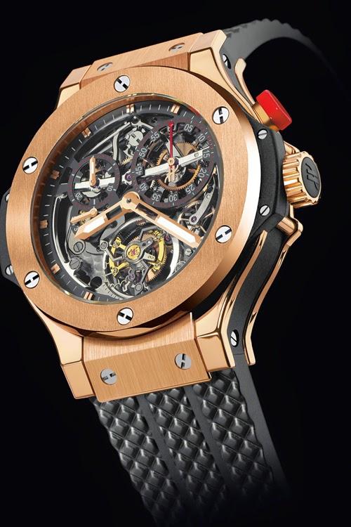 những chiếc đồng hồ siêu sang của hublot