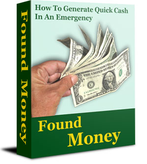 HOW TO GENERATE QUICK MONEY IN AN EMERGENGCY