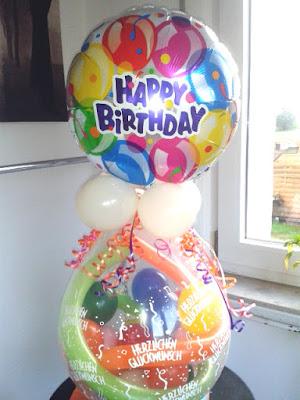 Geburtstag - Verpackungsballons