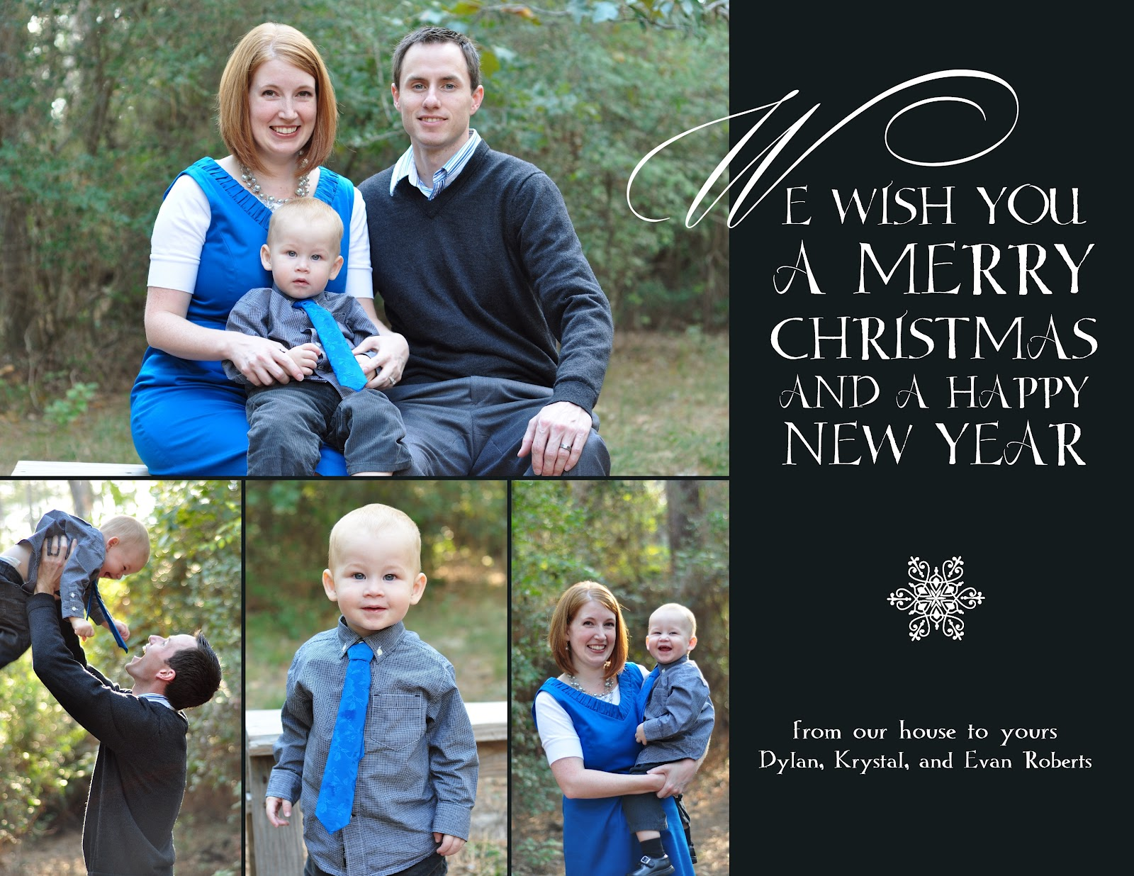 Digital Photo Christmas Card