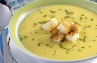 Sopa de Mandioquinha (vegana)