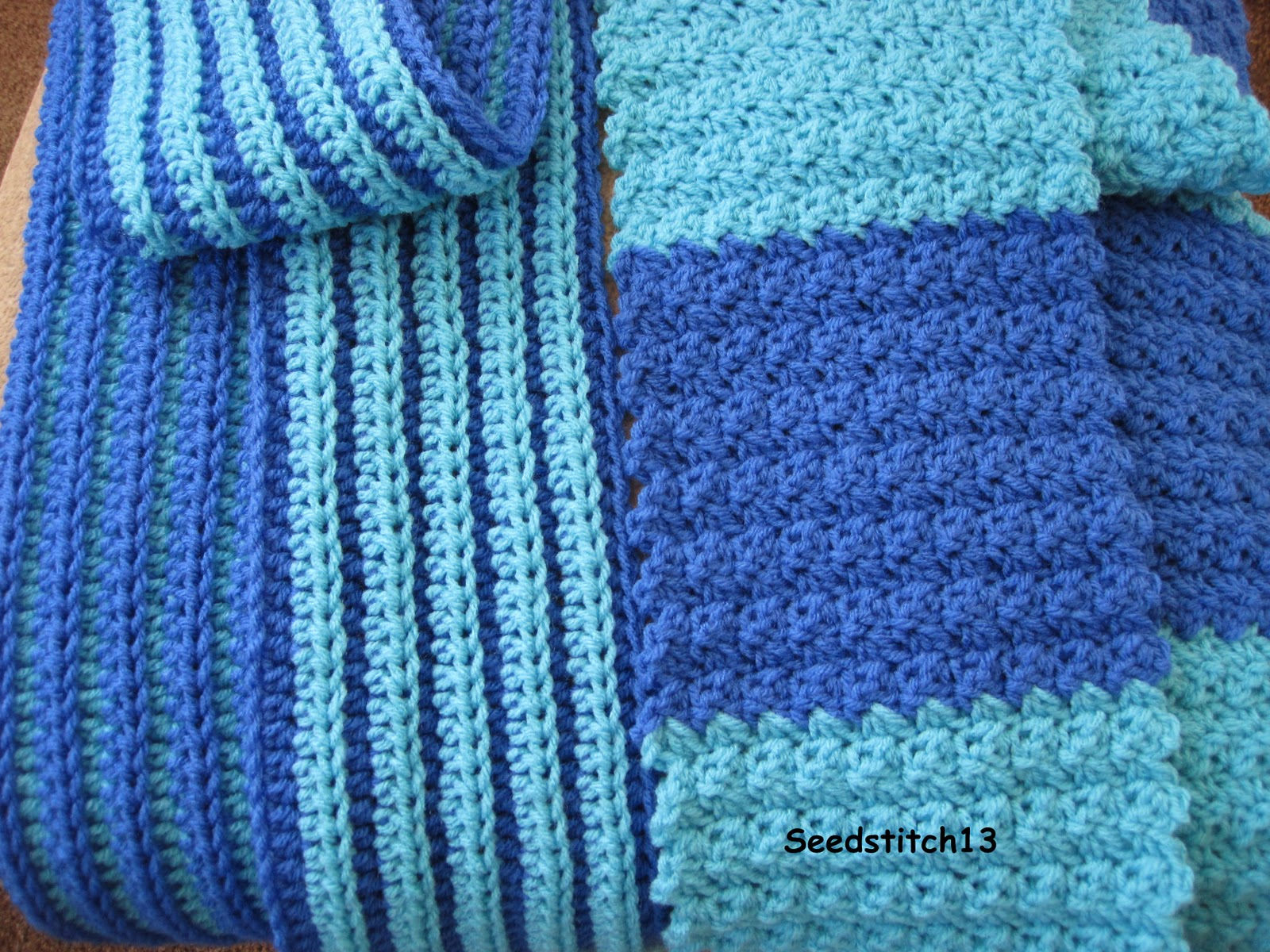 Seedstitch13: Seed Stitch Scarf