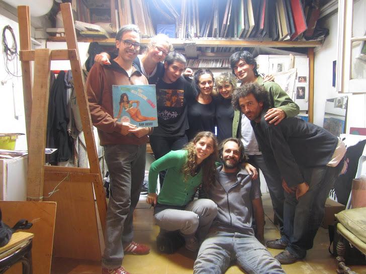 Sombras: mis amigos del taller sur