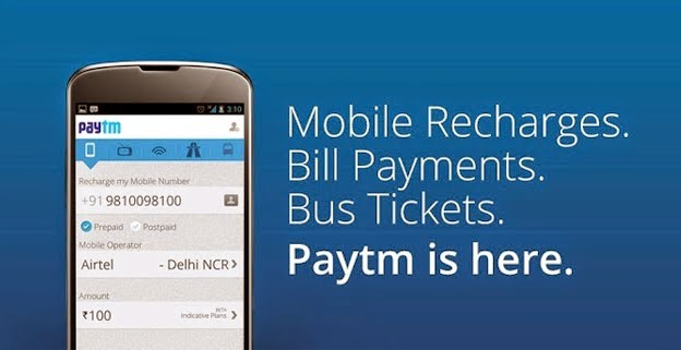 Paytm Recharge Offer - Get Rs. 100 Recharge at Rs. 50 on Paytm Mobile App ( radio50 )
