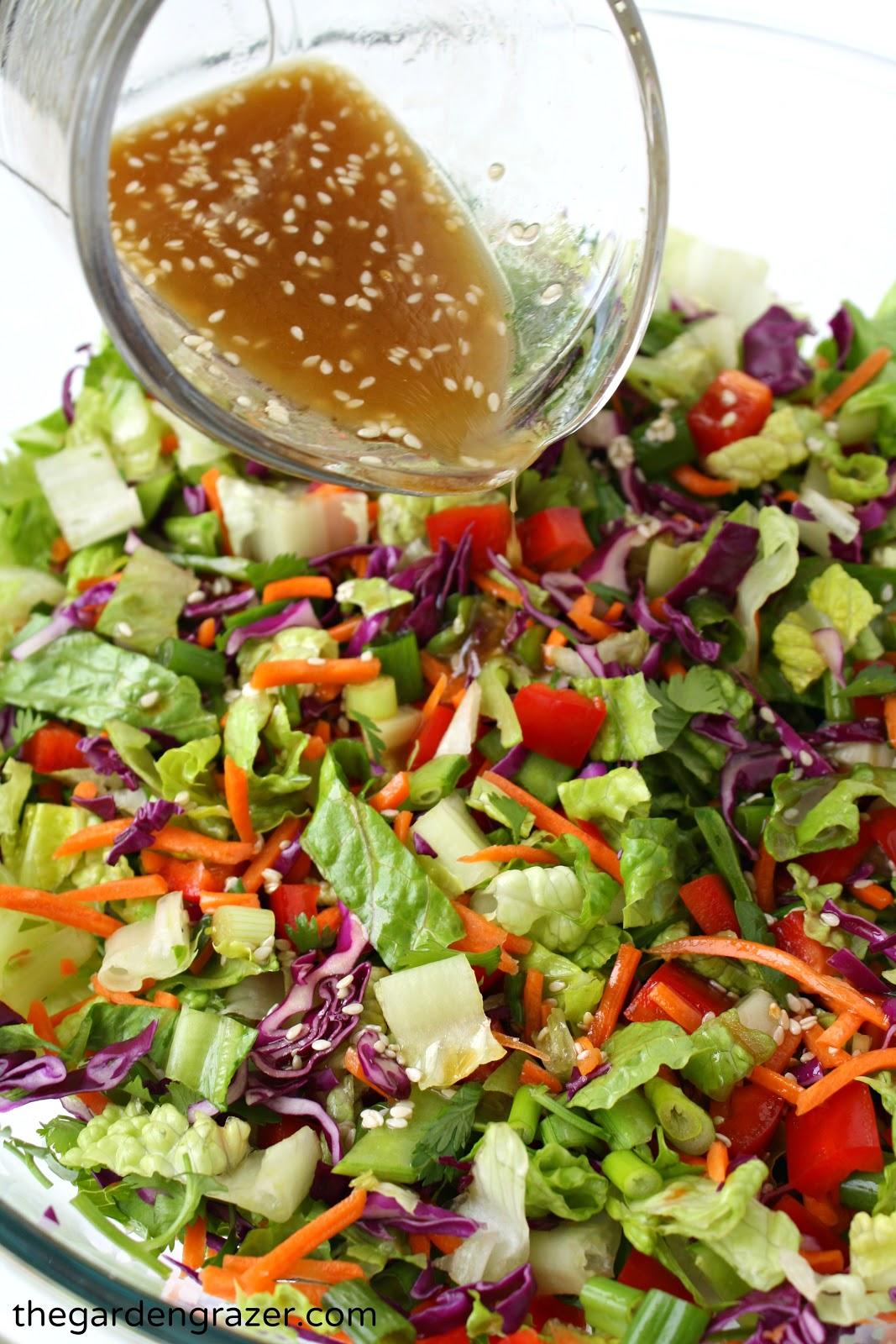 Asian lettuce salad recipe