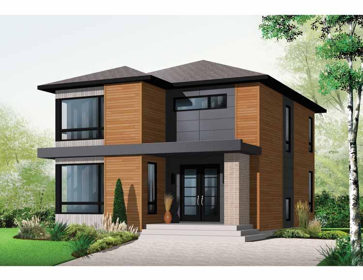 Diseno De Baños Normales:Plano de casa estilo contemporaneo de 170 metros cuadrados