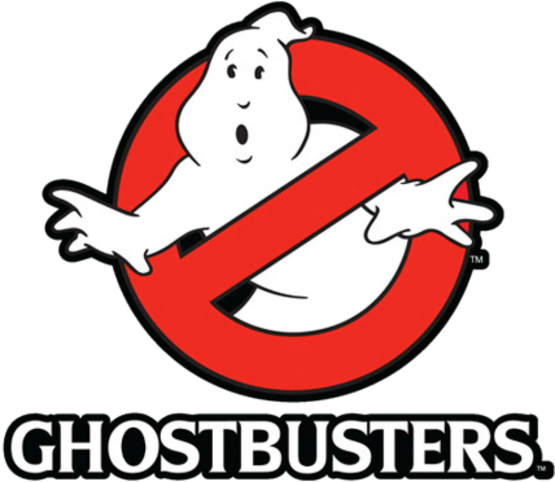 Nerdy image with ghostbusters logo printable