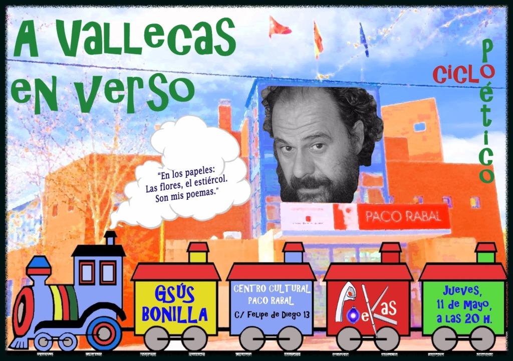 GSÚS BONILLA en el Ciclo A Vallecas en Verso