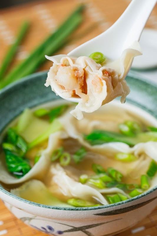 Shrimp Wonton Soup