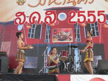 การแสดงรำไทย