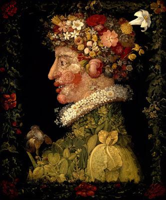 """Giuseppe Arcimboldo """"Frühling"""" aus der Serie """"Vier Jahreszeiten"""" (1563)"""