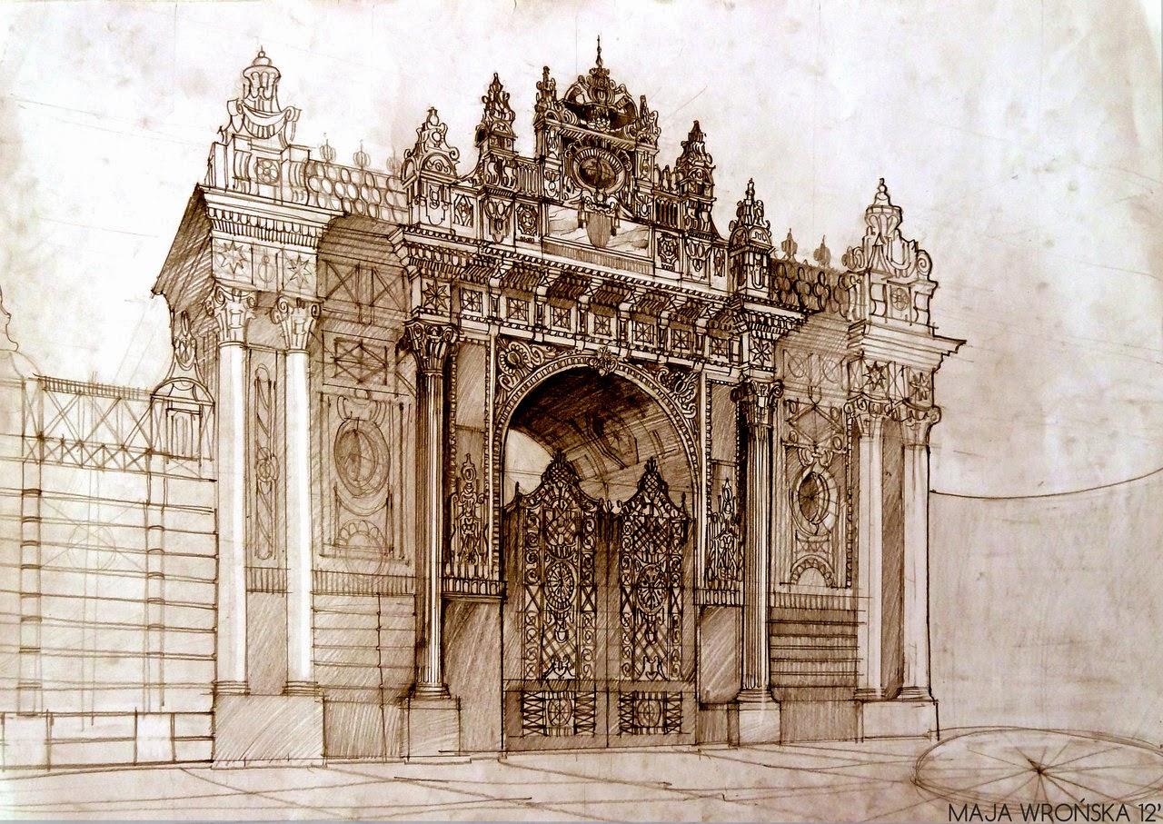 12-Istanbul-Maja-Wronska-Travels-Architecture-Paintings-www-designstack-co
