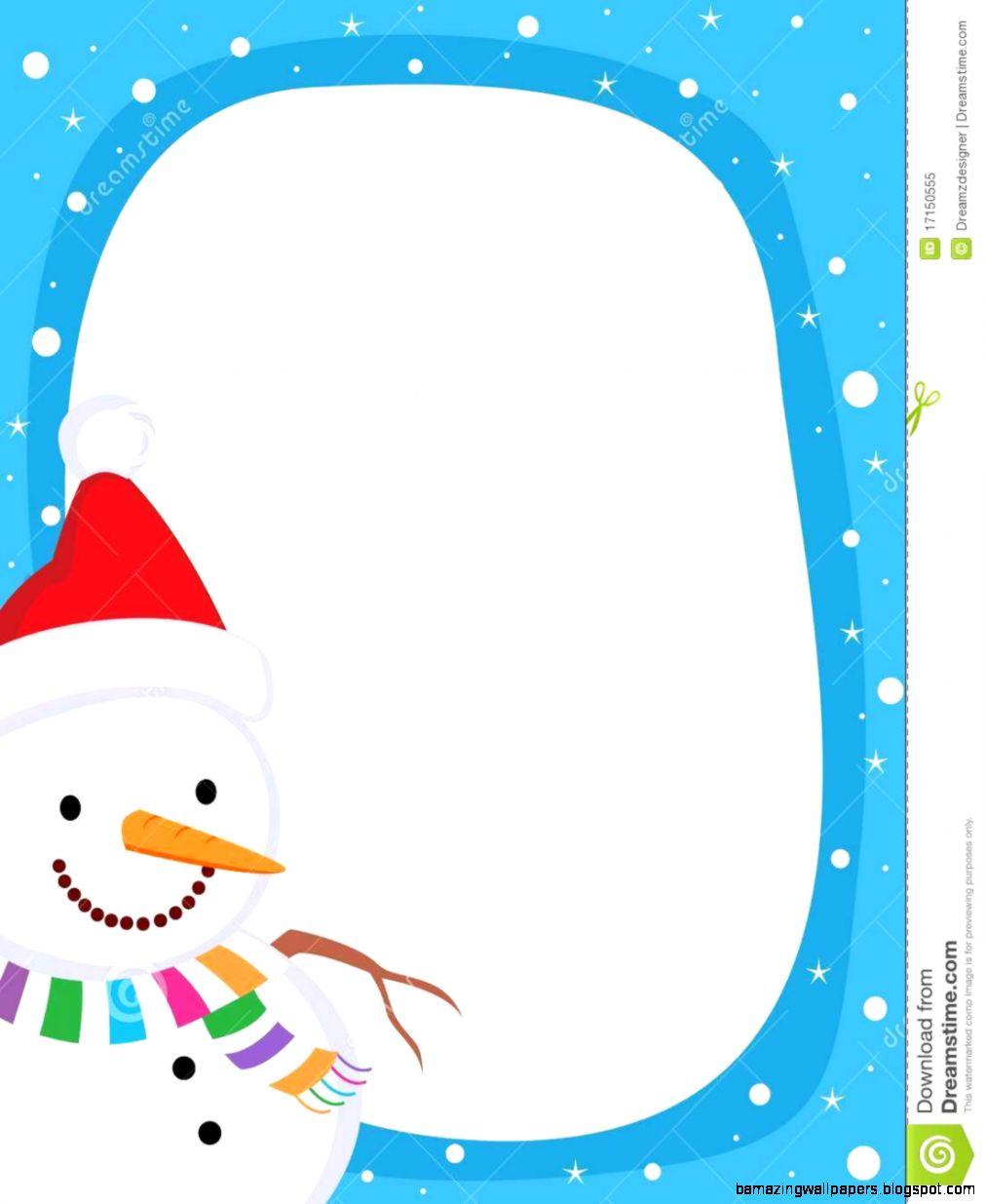Snowman Border  Frame Royalty Free Stock Photo   Image 17150555