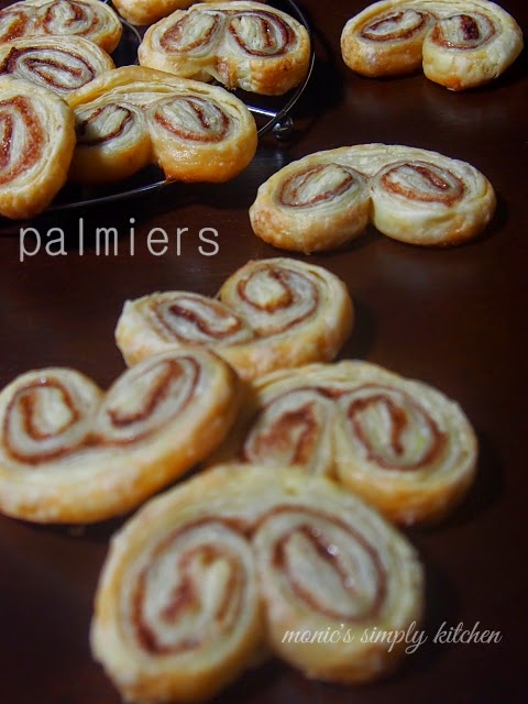 puff pastry instan palmiers