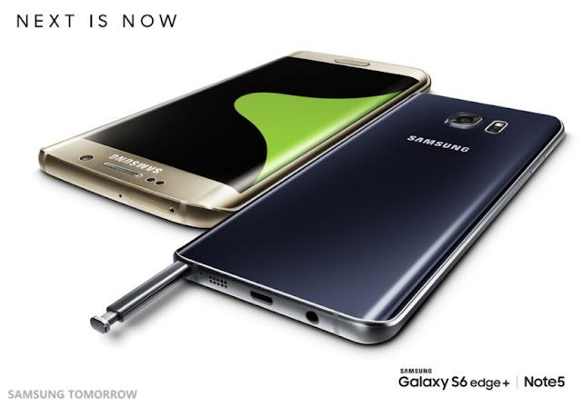 Samsung Galaxy Note 5 dan Galaxy S6 Edge Plus resmi diperkenalkan