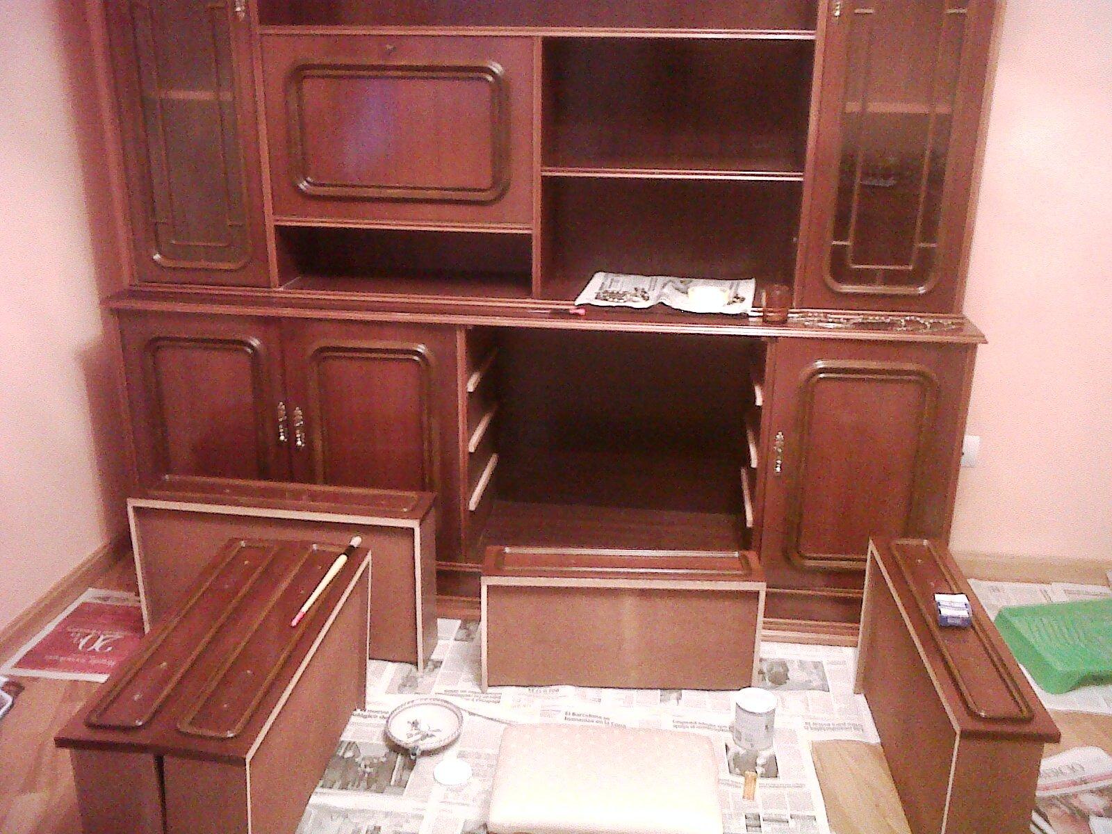 Naifandtastic decoraci n craft hecho a mano restauracion muebles casas peque as boda antes - Como restaurar muebles ...