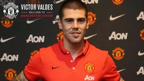 2015 winter transfer Victor Valdes to Manchester United