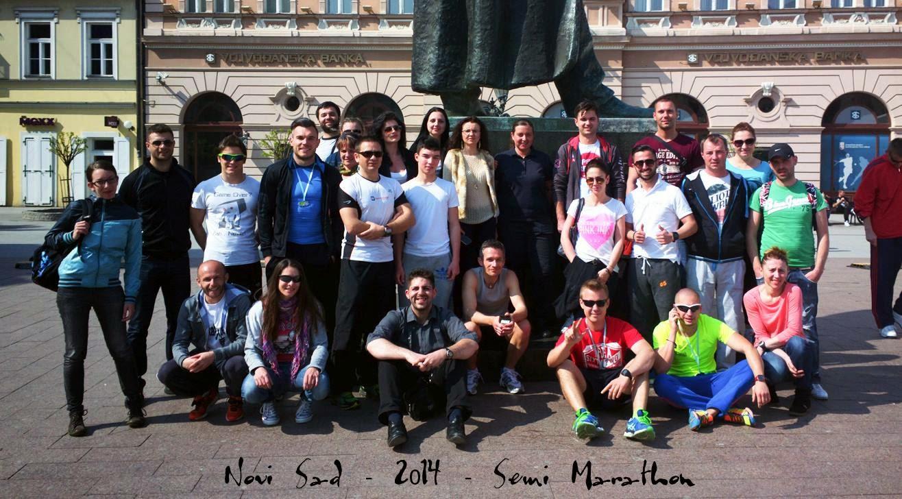 Semimaraton Novi Sad 2014. Grup 2