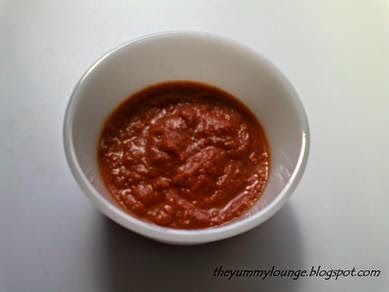 Red Chili Garlic Chutney Recipe