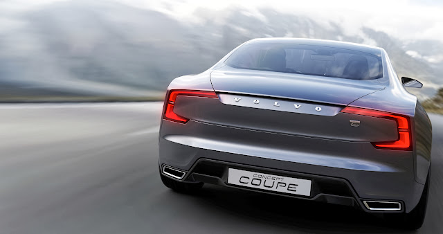 Volvo Concept Coupé: The Reincarnation of the P1800?