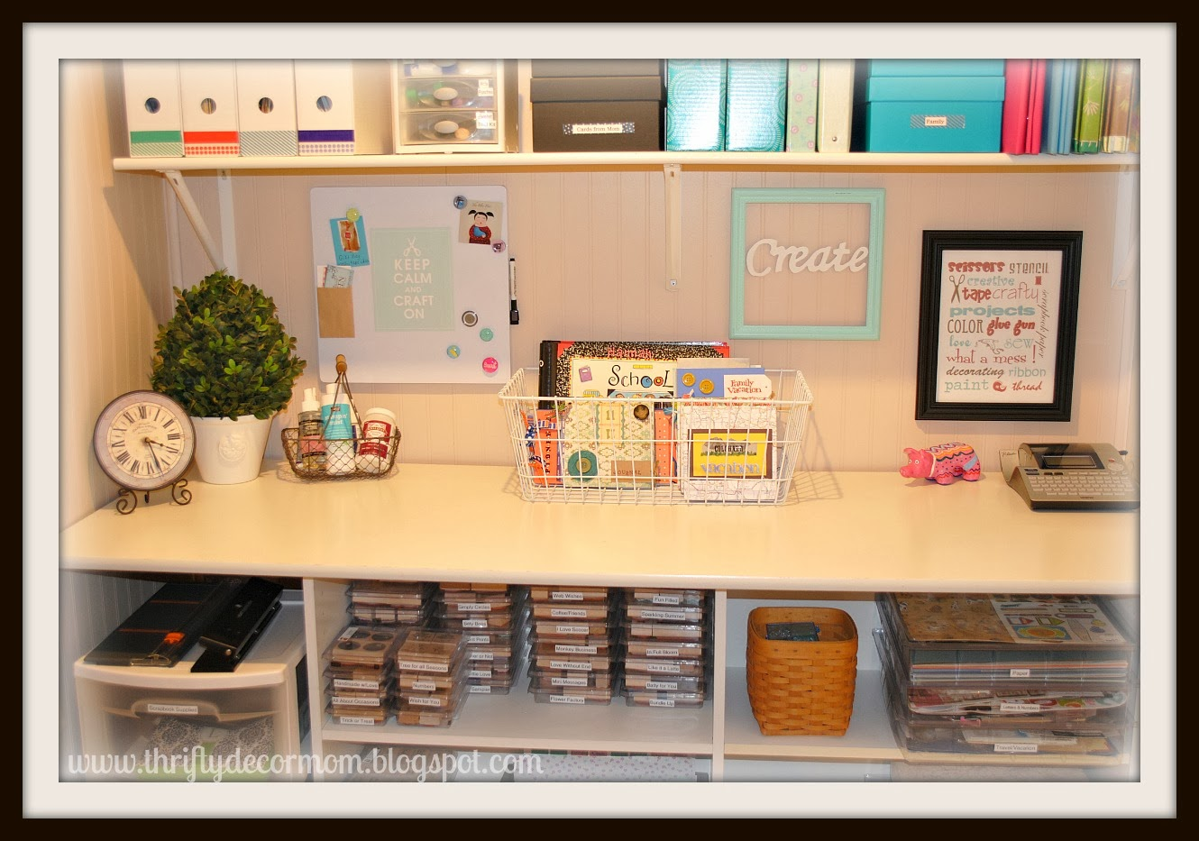 All Craft Rooms Archives - Page 6 of 19 - Craft Storage Ideas