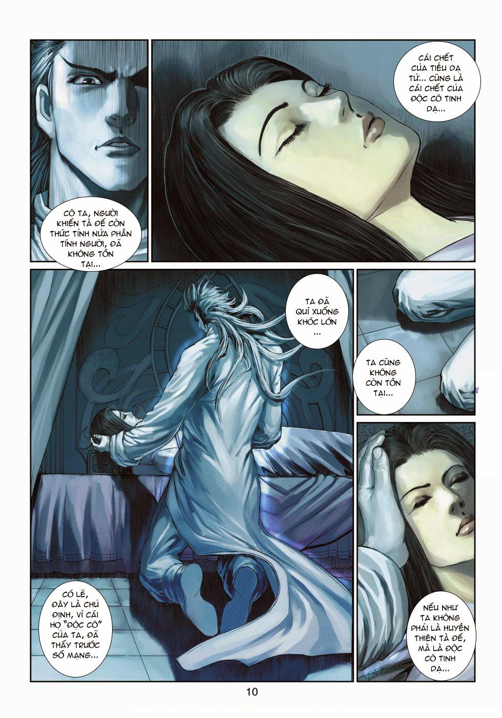 Thần Binh Tiền Truyện 4 - Huyền Thiên Tà Đế chap 14 - Trang 10