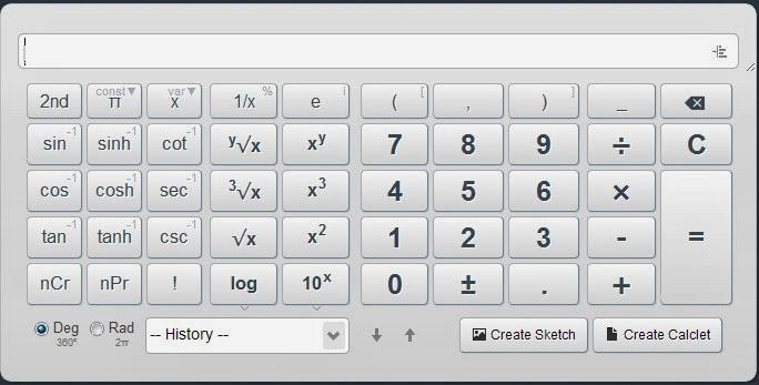 4 Calculadoras Cientificas Online
