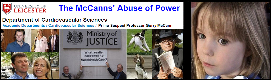 The McCanns' Abuse of Power