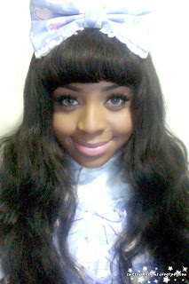 Black lolita, angelic pretty, ap, lolita,lolita fashion,sweet lolita,fancy paper dolls,lavender,selfies,