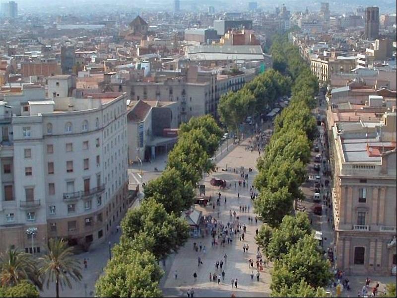 Barcellona la rambla for Ramblas barcellona