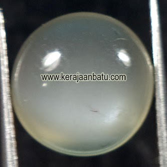 moonstone asli, air laut, air biru, Natural Moonstone Kode P562