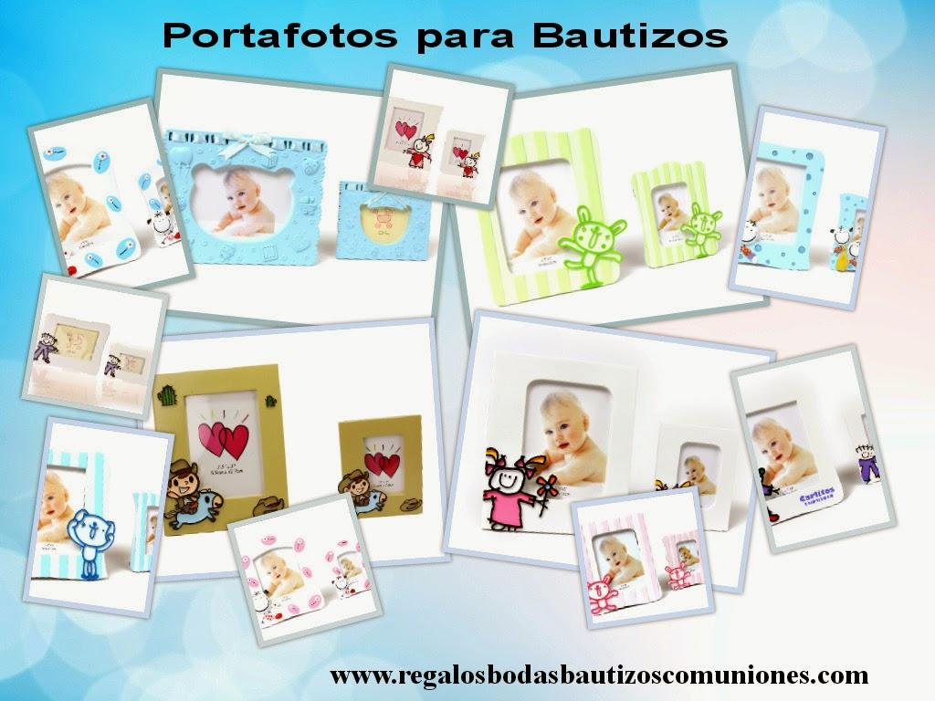imagen portafotos bautizos