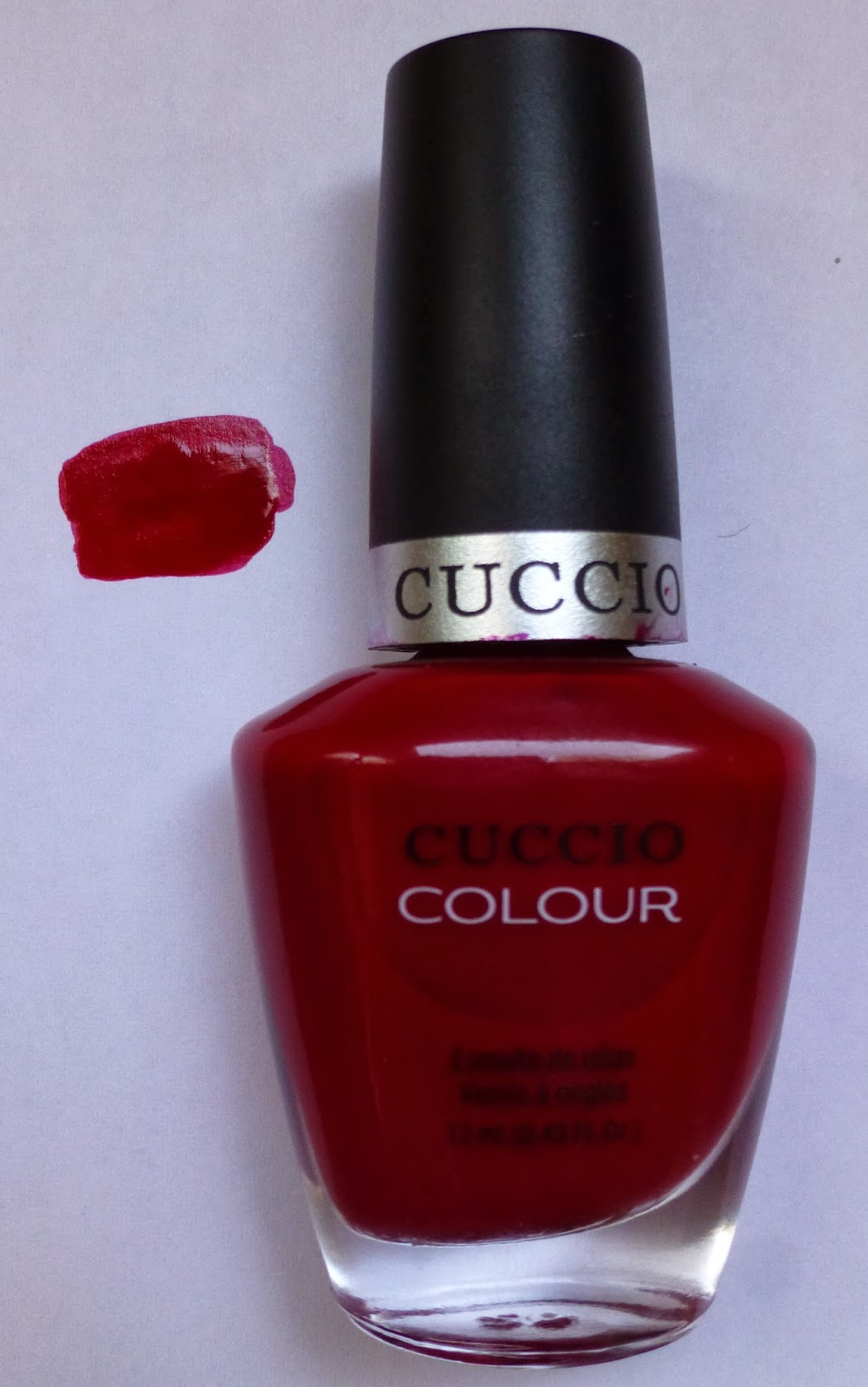 Cuccio_Colour_Professional_Nail_Lacquer_review_red_Shanghai