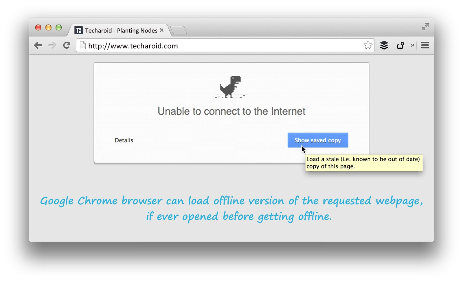 google-chrome-offline-browsing