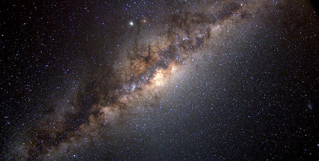 The Milky Way galaxy. Credit: Serge Brunier