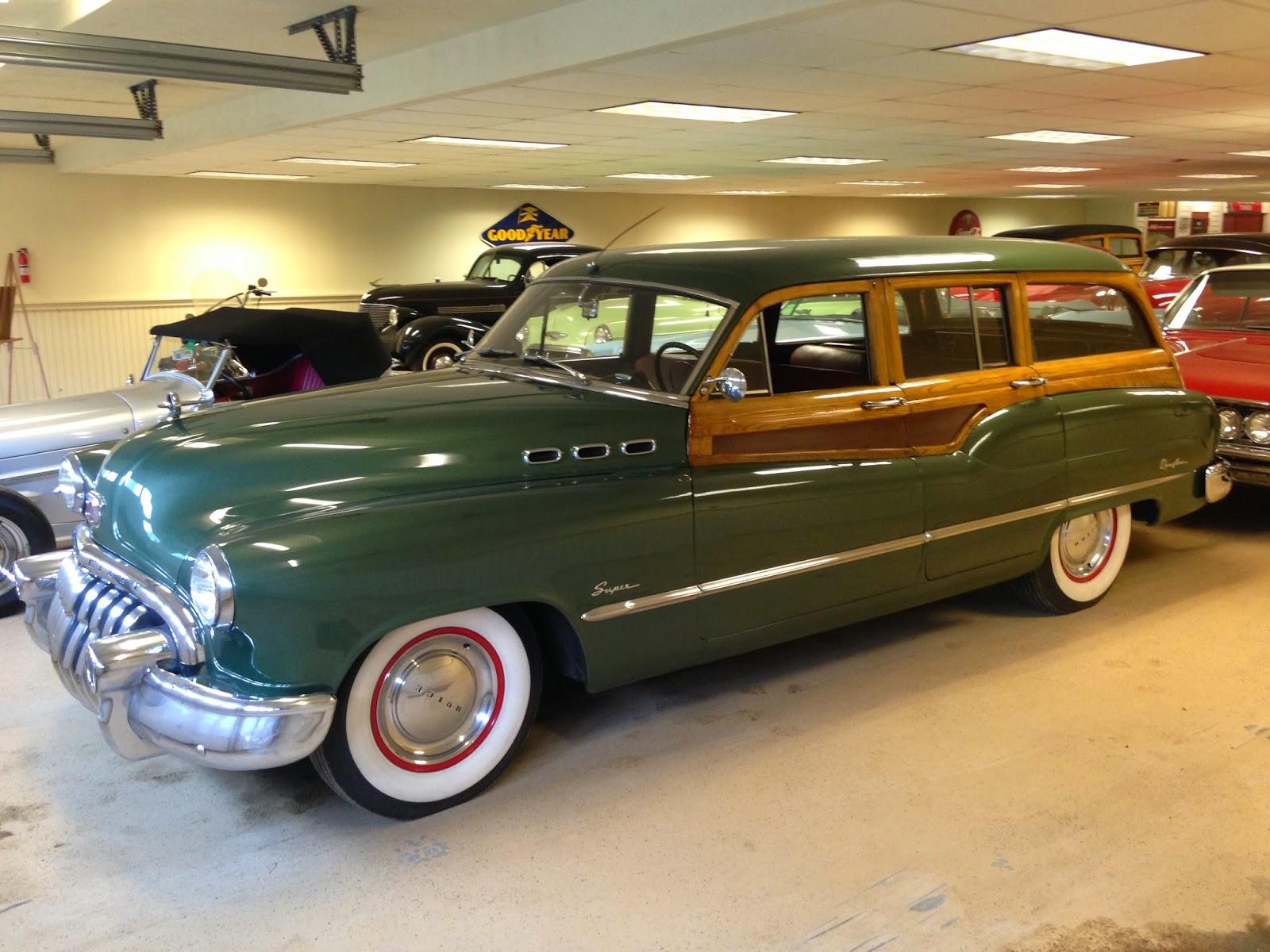 Autoliterate 1951 Buick Roadmaster Station Wagon