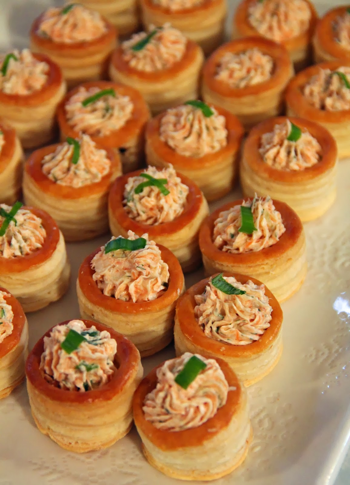 Jo and sue 3 super easy appetizers for Puff pastry canape