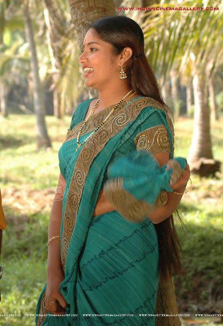 Oiled long hair malayali actress