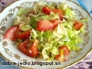 Diétny šalát - recept