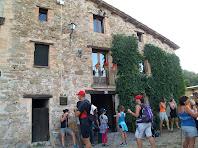 Façana principal, orientada al sud-est, de Fontcendra