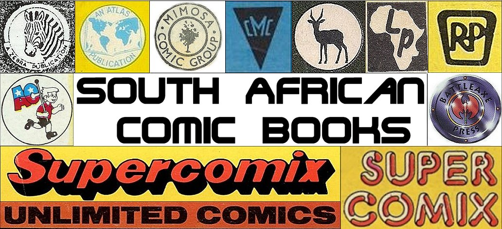 South African Comic Books